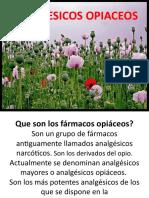 ANALGESICOS OPIACEOS (2)