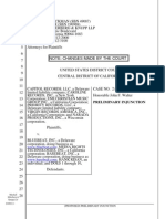 BlueBeat Preliminary Injunction