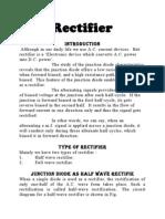 Rectifier 1Rectifier Investigatory Project