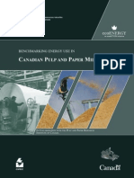 Benchmarking Energy Use in Canadian Pulp and Paper Mills 2006