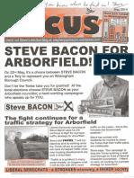 Steve Bacon Manifesto 2014