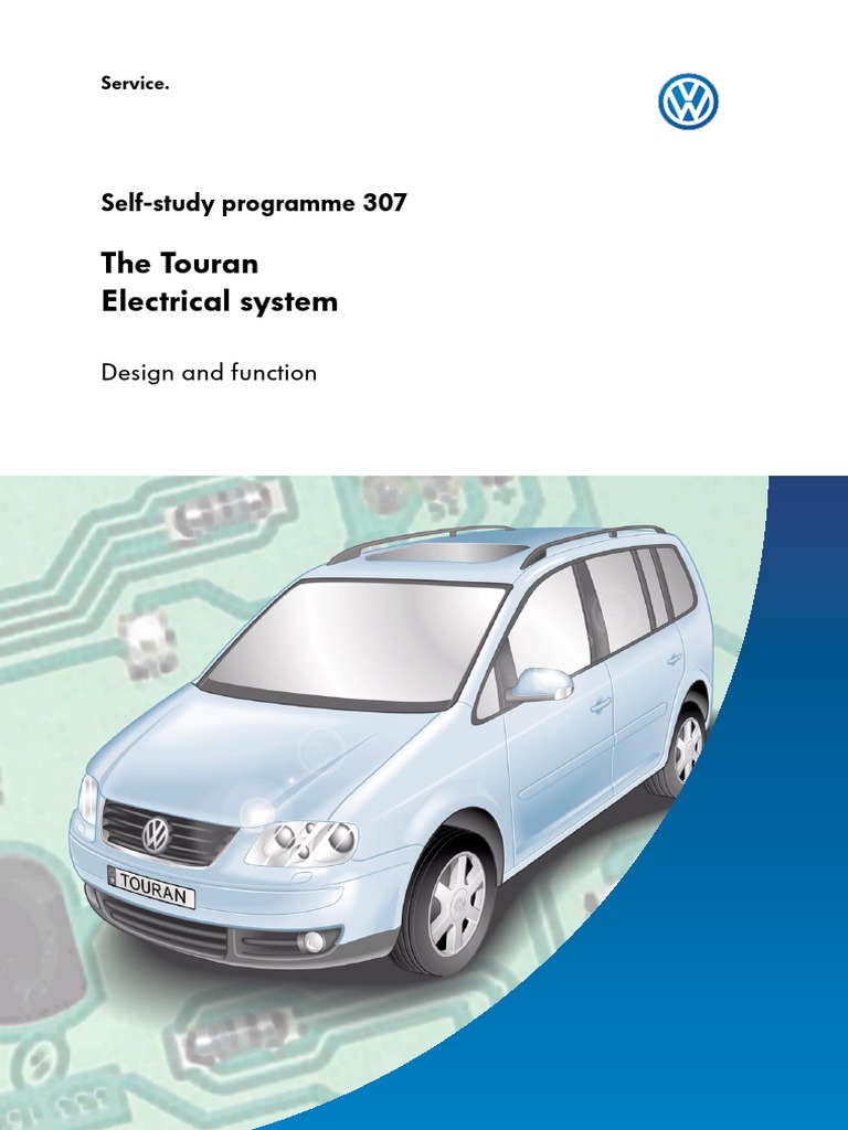 Vw volkswagen touran workshop repair manual wiring diagrams 2003 ssp 307 vw touran electrical system ssp 307 bus switch rh scribd com asfbconference2016 Image collections