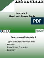 Module_5 Hand Tools