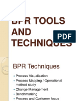 BPR Tools and Techniques