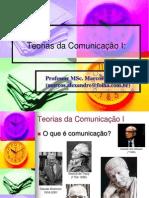 Slides Teoria Da Comunicacao 1