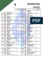 Esc 2014 Score Sheet