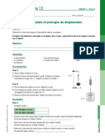 Laboratorio-principio de Arquimedes