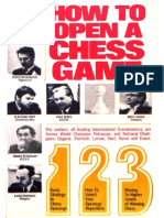 How to Open a Chess Game-Evans, Larry