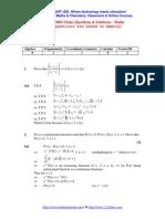 Jee2003 Maths