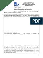 Praetorium OAB Segunda Fase Modelos Ações Autônomas de Impugnação