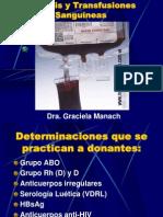 Aféresis y Transfusiones Sanguíneas