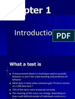 Chapter 1, Psychological Testing and Assessment