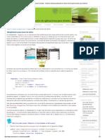 Adaptadores Para Bases de Datos - Diploma de Especialización en Desarrollo de Aplicaciones Para Android