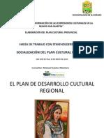 i Mesa Tematica Plan Cultural Ppt1
