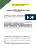Gagarine Et La Forêt Noire. Métapolitiques Du Déracinement Chez Heidegger, Lévinas Et Blanchot