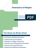 ninian smart 6 dimensions of religion