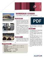 References - Rolling Stock - Tramway - Citadis Bordeaux - English