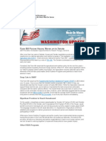 Washington Update - How the Farm Bill Would Affect Our Seniors