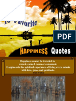 16 Favorite HAPPINESS Quotes