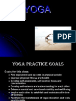 Yoga Intro and Sun Sal
