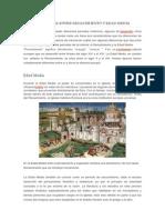 Diferencia Entre Renacimiento y Edad Media