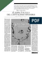 Vargas Llosa. Espectáculo y capitalismo