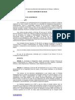 DS 003-98-SA Normas Técnicas Del Seguro Complementario de Trabajo de Riesgo