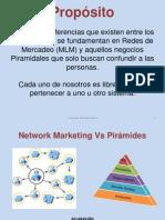 Redes vs Piramides