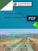 DISEO DE CANALES TOMANDO EN CUENTA LA EROSION - POINT.ppt