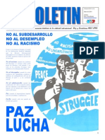 Boletin nº12 del Ateneo Paz y Socialismo, junio 2014