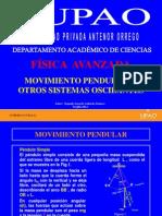 MOVIMIENTO PENDULAR Y OTROS SISTEMAS OSCILANTES