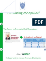 eshop4golf - ecommerce and revenue generating program