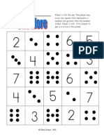 dice game- connect 4