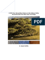 A 600-Year Streamflow History in the Salinas Valley