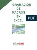 Curso de Programación de Macros en Excel 2010