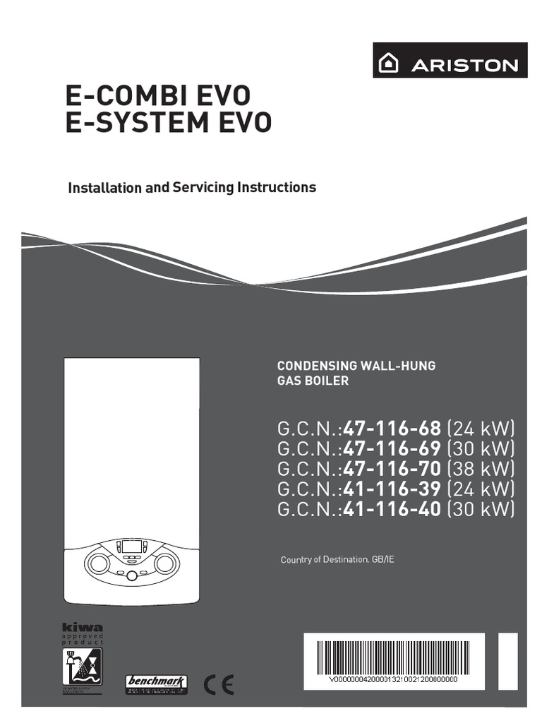 143 453 E Combi System Evo Installation Servicing Manual Water Gas Boiler Wiring Diagram For Heating
