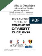 Reglamento y Guia de Concurso Cansat Cucei 2k14_v2.5