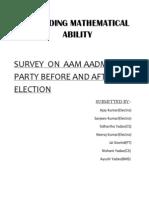 Final Report of AAP