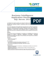 Business Intelligence Application Developer SQL Server 2012 (1)