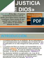La Justicia de Dios»