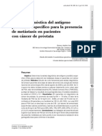 1- Validez Diagnostica Del Antigeno Prostatico