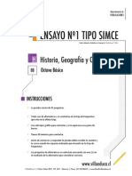 Ensayo1 Simce Historia 8basico 2014