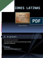 Locuciones Latinas by Gabyo