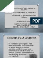 Historia y Evolucion de La Logistica