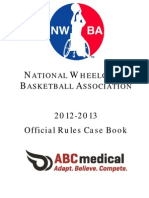 2012-2013 Official Rules Case Book