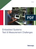 Sistemas Embebidos - El Reto de Las Pruebas y Medidas 54W21287-0 -AFC