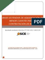 Bases Estándar de Adjudicación de Menor Cuantía Para La Contratación de Bienes