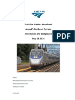 Amtrak Trackside WiFi RFP introduction