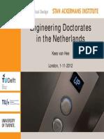 Kees Van Hee Presentation - 1 November 2012