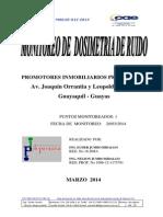 Informe de Dosimetria Plastro Marzo2014